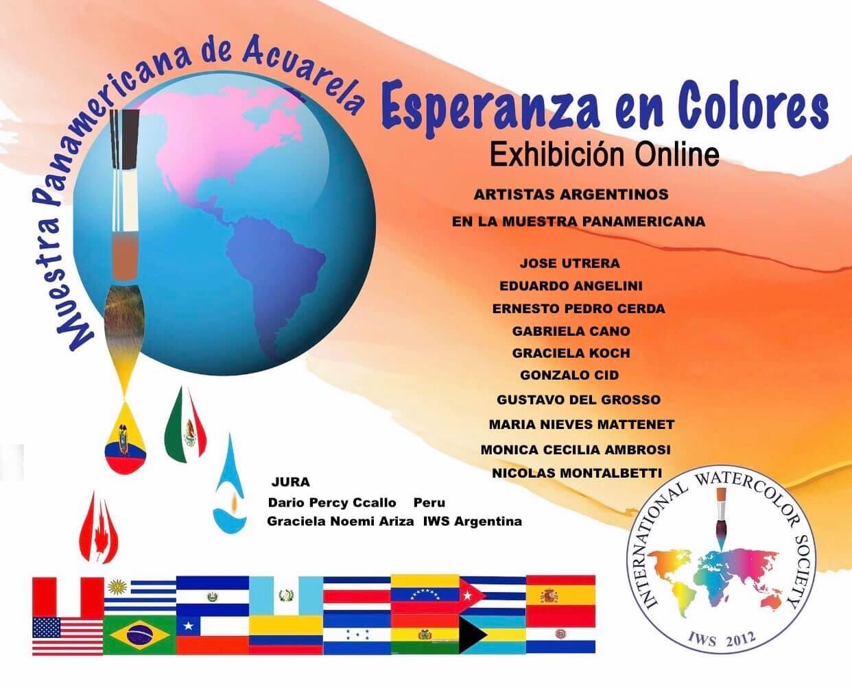 Pan American watercolor exhibition